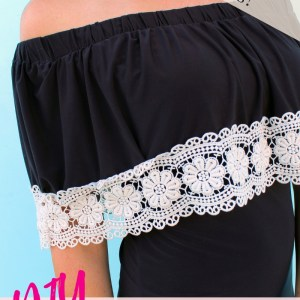 Easy DIY lace Maxi Dress refashion sewing project