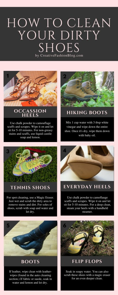 How To Clean Your Dirty Shoes