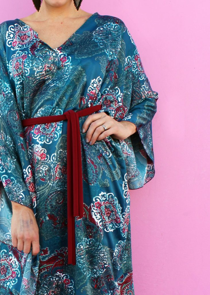 how to make an easy diy caftan yourself