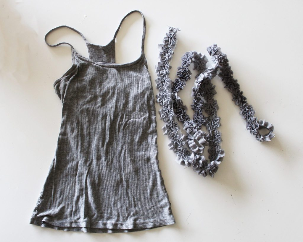 How to refashion a basic t shirt . This easy idea is a full step by step tutorial