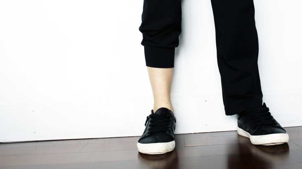 recycled clothing joggers