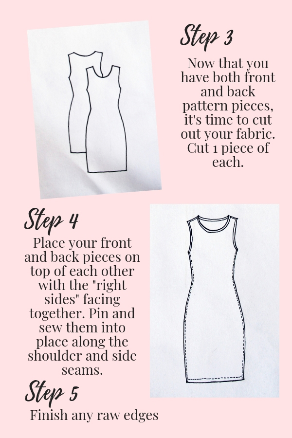 t shirt dress pattern