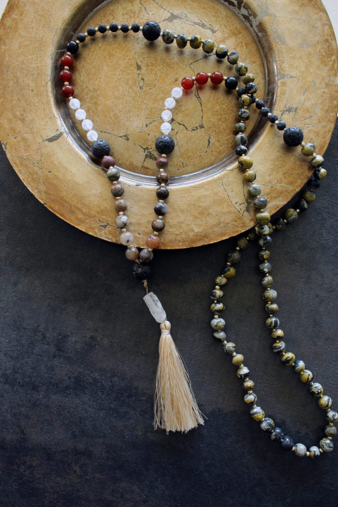 Make These DIY Mala Beads for Meditation and Crystal healing