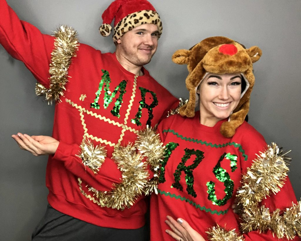 Diy Ugly Christmas Sweater Ideas For Couples Creative Fashion Blog