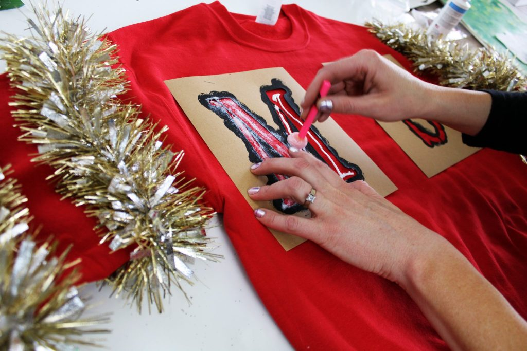 How to make a diy ugly Christmas Sweater
