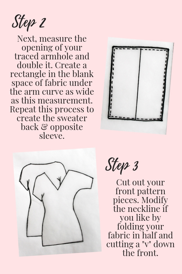 How to make your own DIY sweater easy beginner sewing tutorial printable pdf pg 5