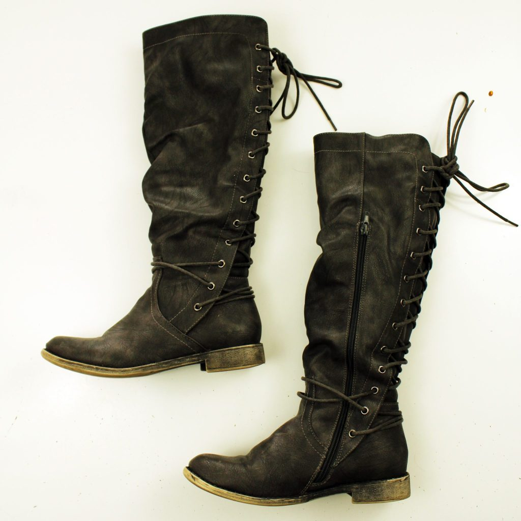 Refashion Your Boots In Just Ten Minutes