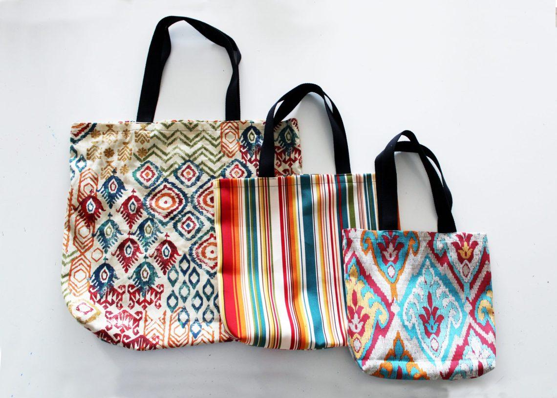 3 DIY tote bag patterns