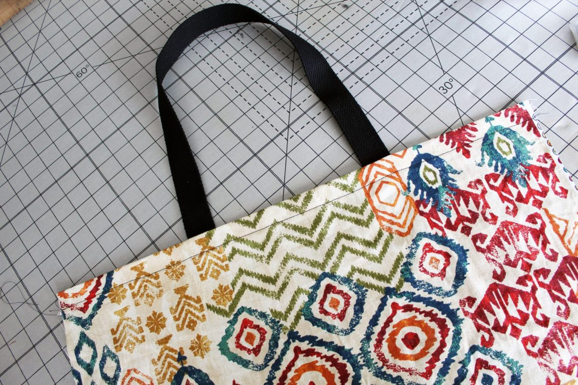 3 easy DIY tote bag sewing patterns with video instructions
