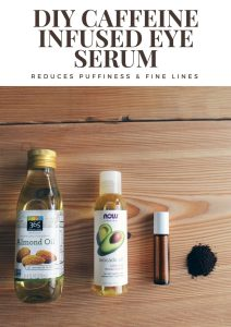 DIY Caffeine Infused Eye Serum