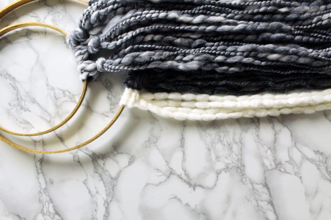 Make This Minimalist Woven Wall Art DIY
