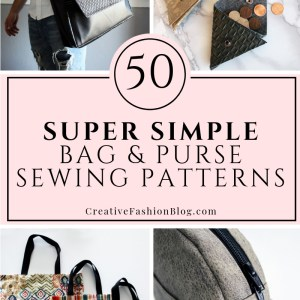50 easy bag and sewing patterns