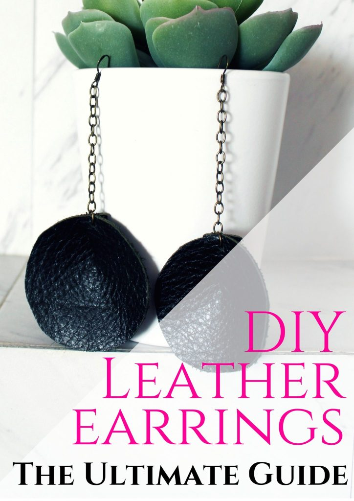 diy leather earrings the ultimate guide