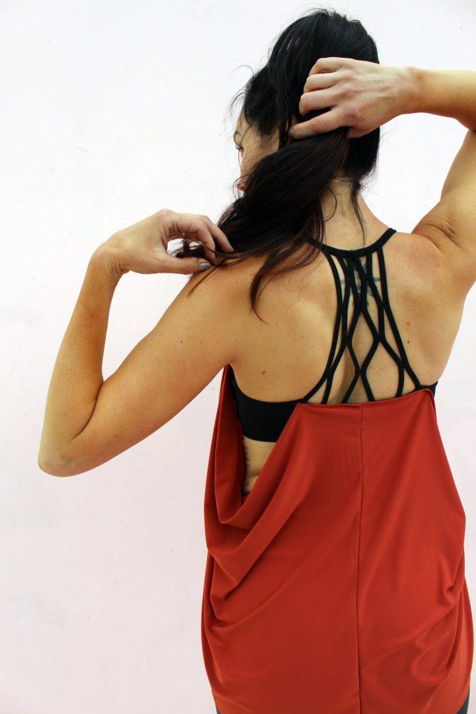 diy workout shirt tutorial . lulu lemon knockoff