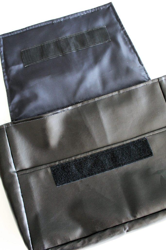 Canvas DIY Messenger Bag instructions 18