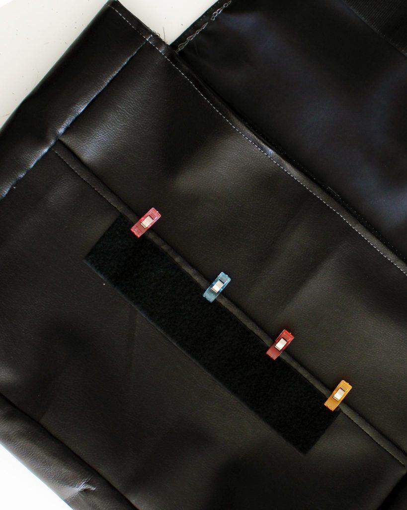 Canvas DIY Messenger Bag instructions 20
