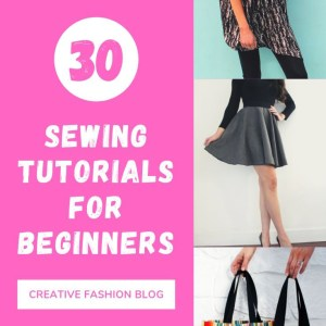30 easy sewing projects for beginners..