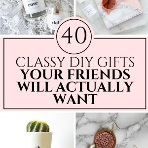 40 expensive looking diy christmas gifts your friends will actually want!