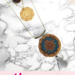Liquid Sculpey DIY Boho necklace Jewelry Tutorial with tassels