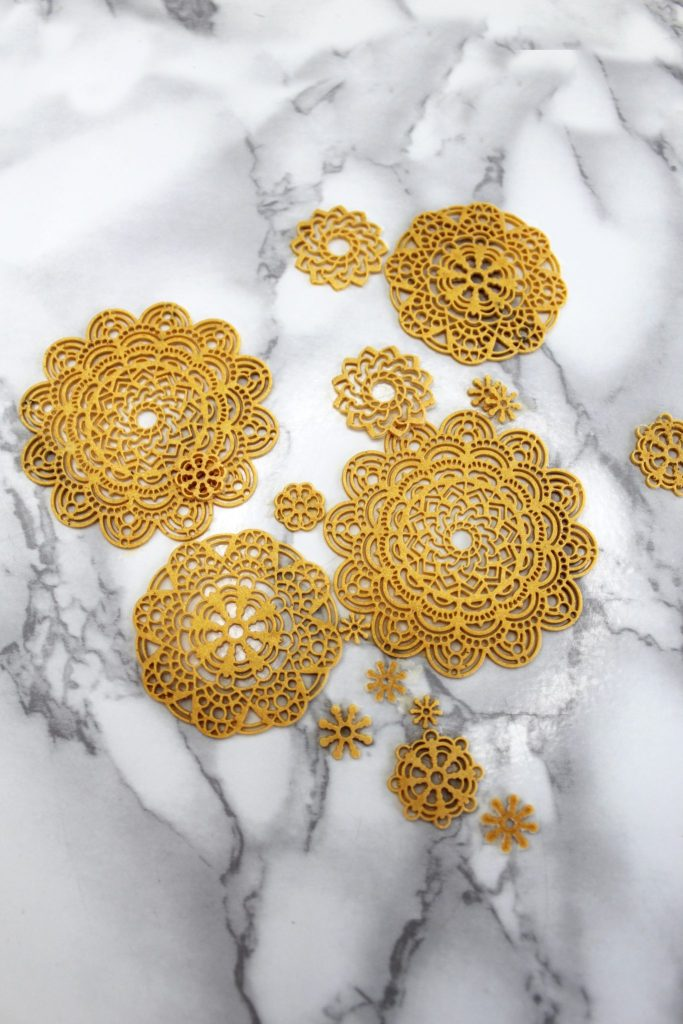liquid sculpey mandalas diy boho jewelry tutorials