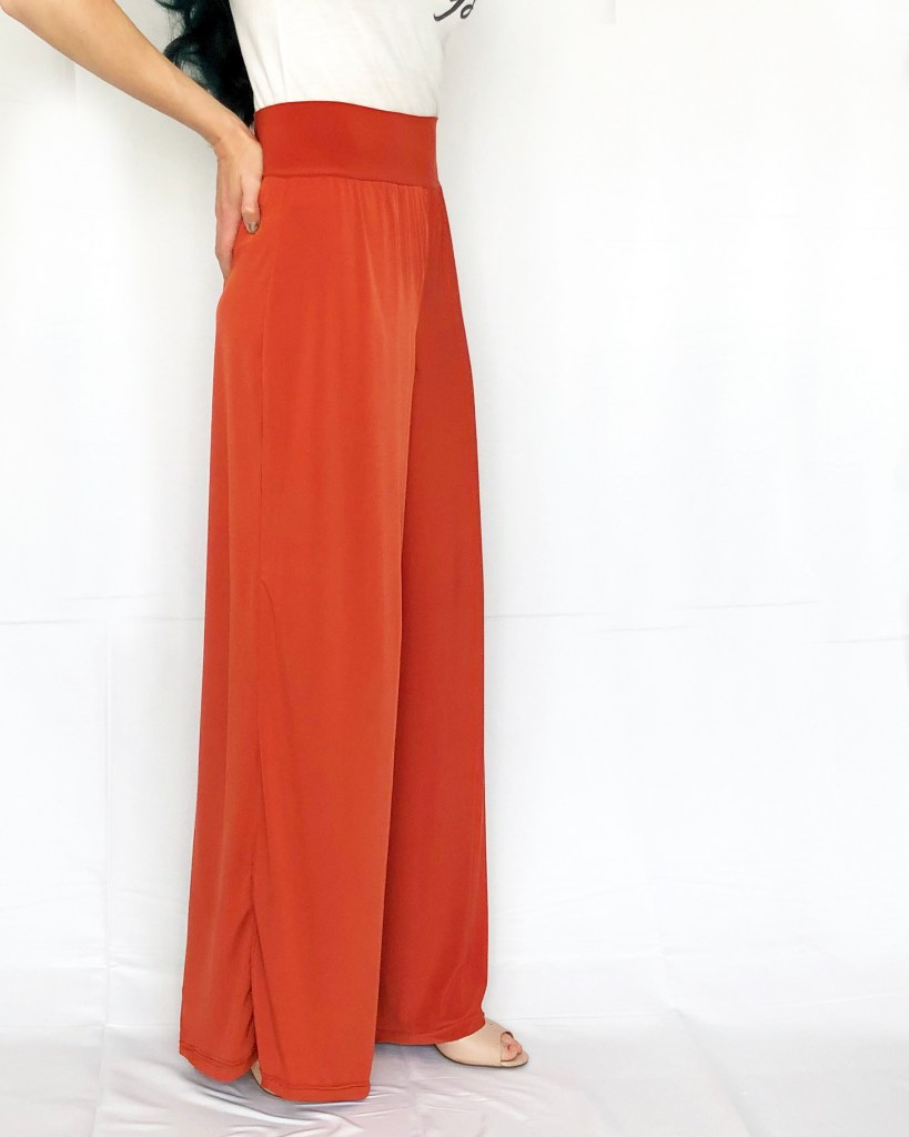how to sew wide leg palazzo pants