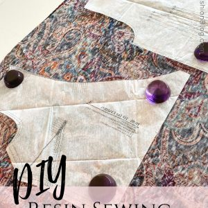How to DIY your own sewing pattern weights