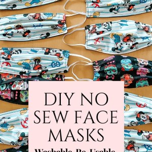 how to make a face mask with out ever sewing