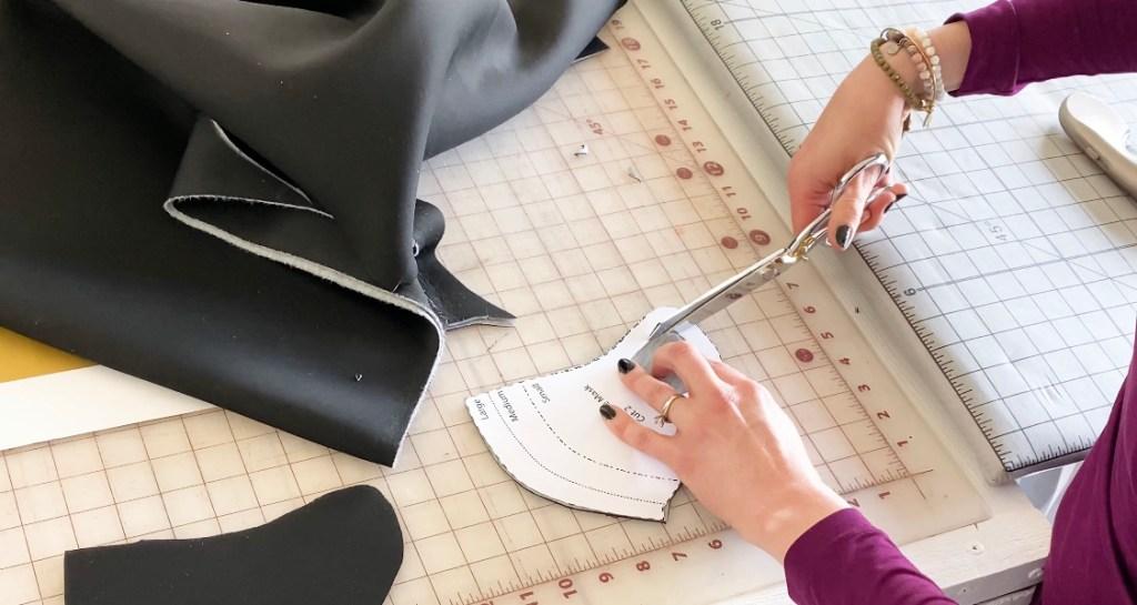 pdf neoprene face mask sewing pattern