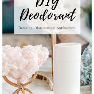 diy deodorant with essential oils