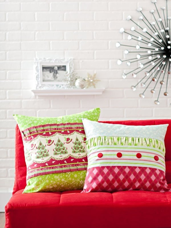 DIY patchwork quilts and other Christmas Sewing Projects