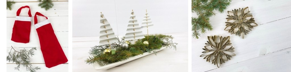 christmas decorations from recycled materials