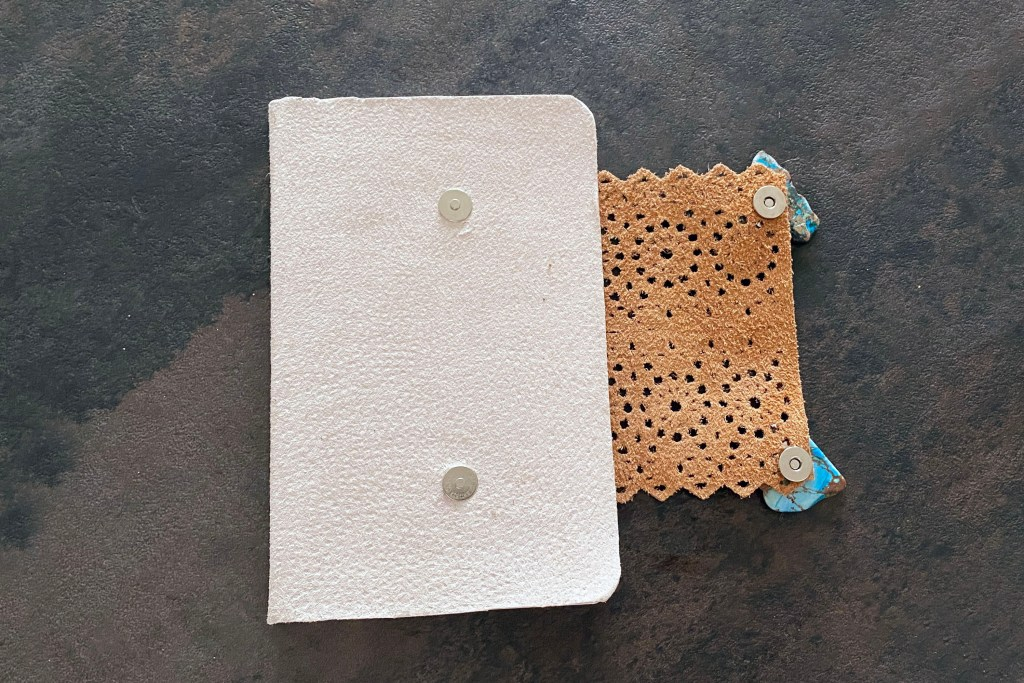 how to make a leather journal 2