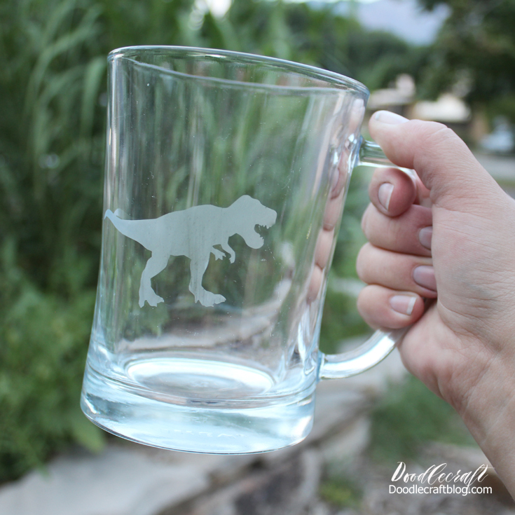Cricut business ideas glass etched animal mugs diy how to make (4)