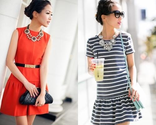 how to wear a drop waist dress