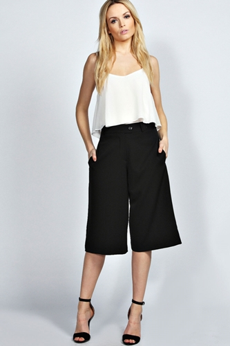 Trendy Ways To Wear Culottes