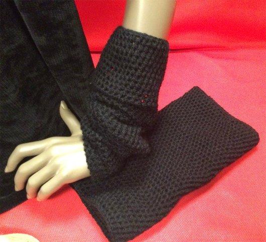 Manicotti in lana handmade