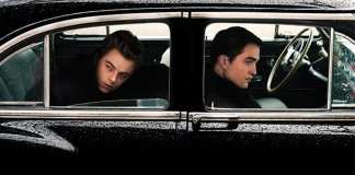 Dane DeHaan and Robert Pattinson in Life