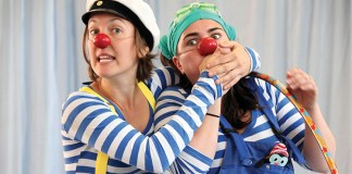 Annabel Morgan and Nadia Woodward in Fishy Flippers