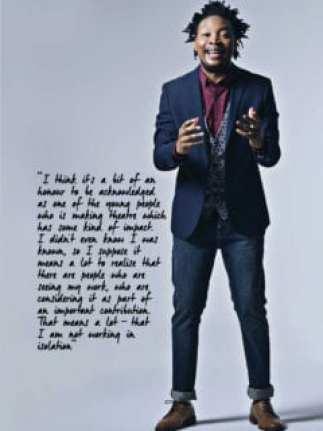 2017 Standard Bank Young Artist for Theatre, Monageng Motshabi.