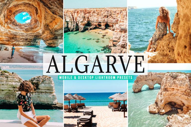 Preview image of Algarve Mobile & Desktop Lightroom Presets