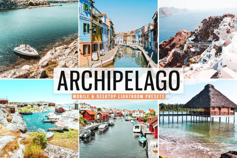 Preview image of Archipelago Mobile & Desktop Lightroom Presets