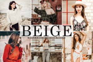 Beige Mobile & Desktop Lightroom Presets