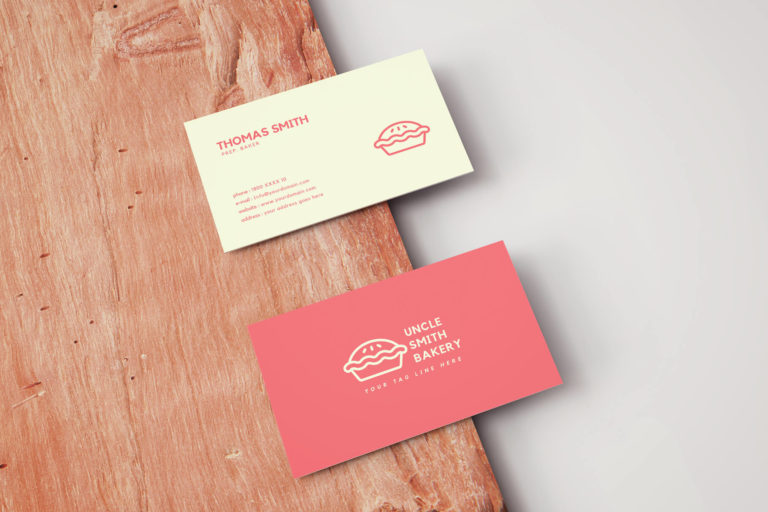 Preview image of Minimal Bakery Business Card