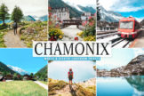 Last preview image of Chamonix Mobile & Desktop Lightroom Presets