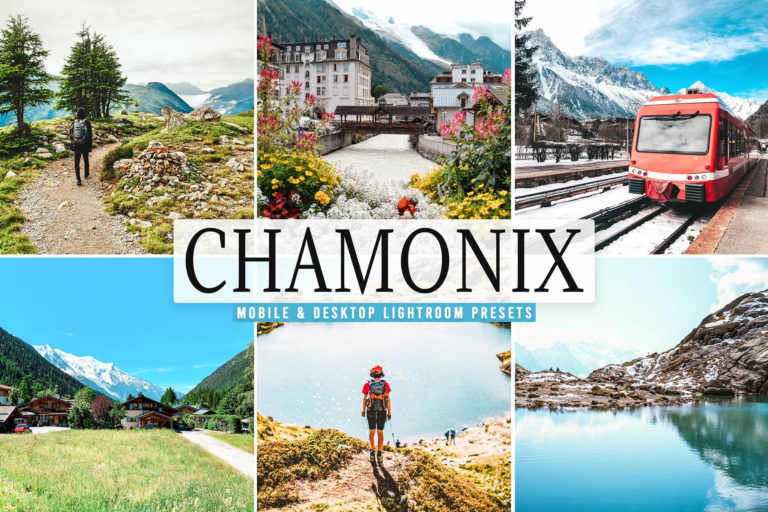 Preview image of Chamonix Mobile & Desktop Lightroom Presets