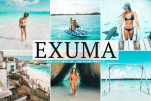 Exuma Mobile & Desktop Lightroom Presets