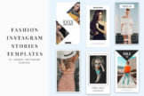 Last preview image of Fashion Instagram Stories Templates