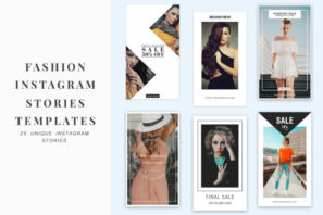 Fashion Instagram Stories Templates
