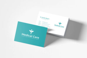 Medical Minimal Business Card Template