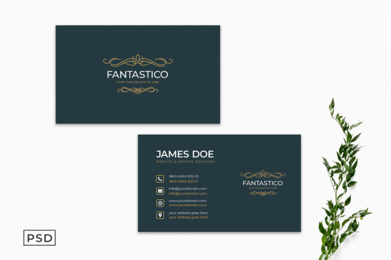 Preview image of Minimal Creative Business Card Template Vol. 2